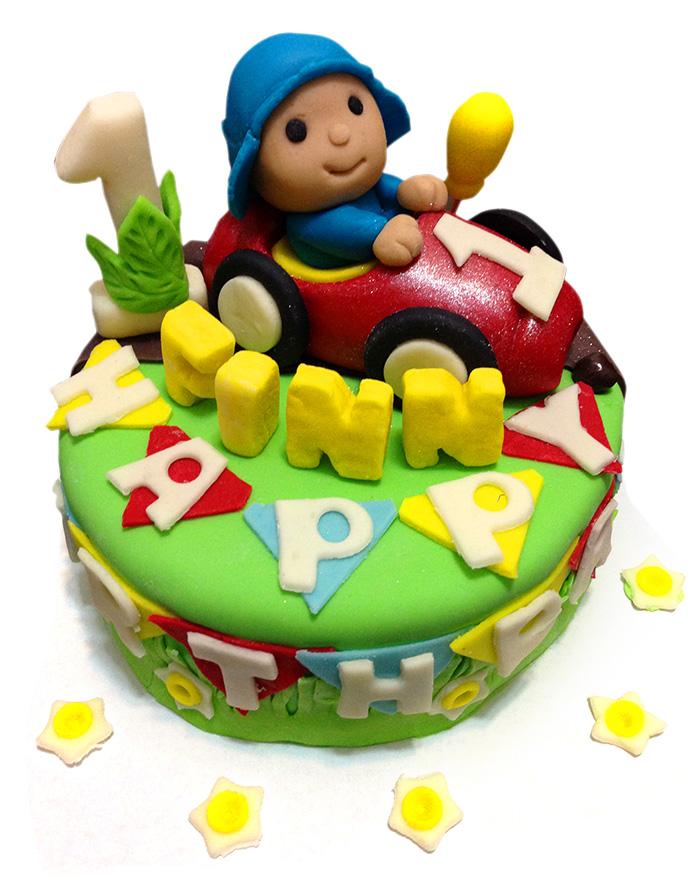 Pocoyo Birthday Cake Partyko