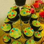 Chocolate moist cupcakes by #partyko